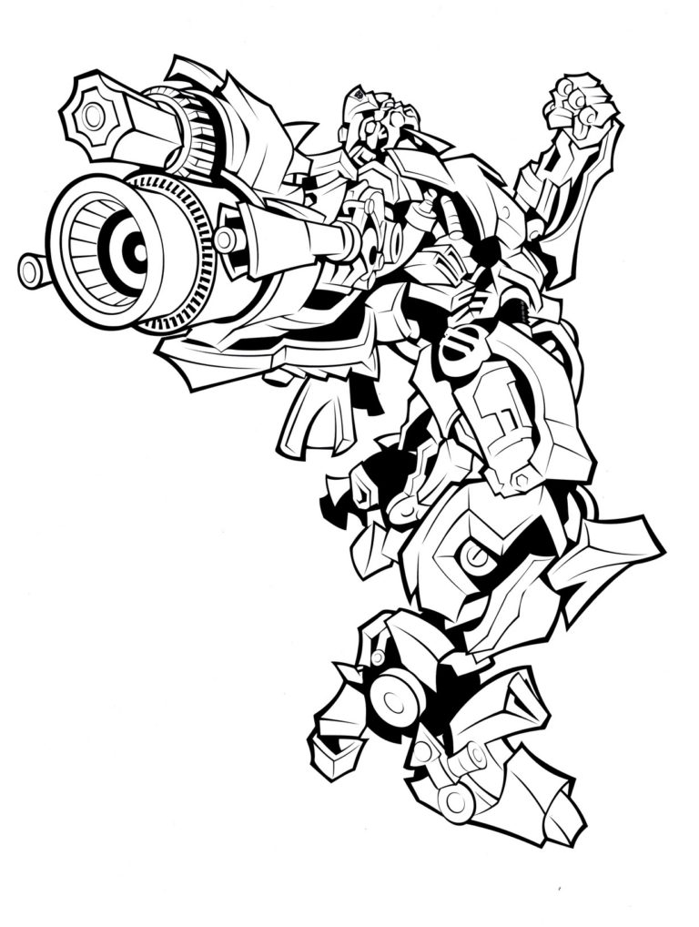 Bumblebee Coloring Pages to download