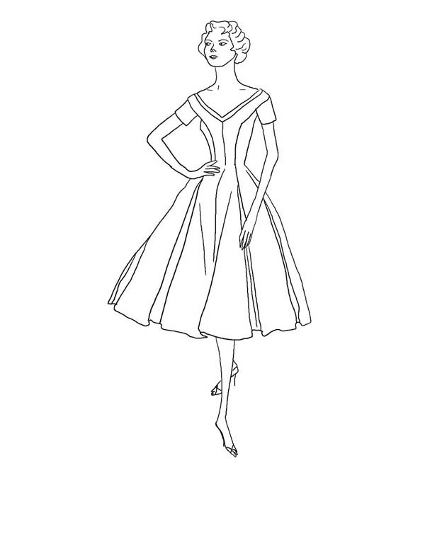 model coloring pages - photo#33