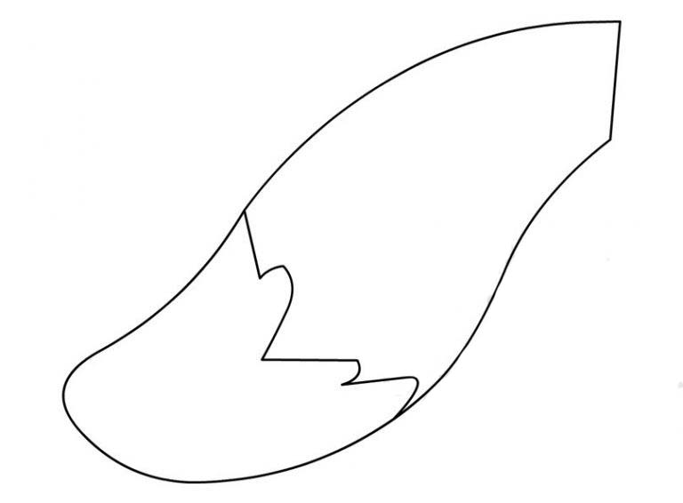 Tail coloring pages to download