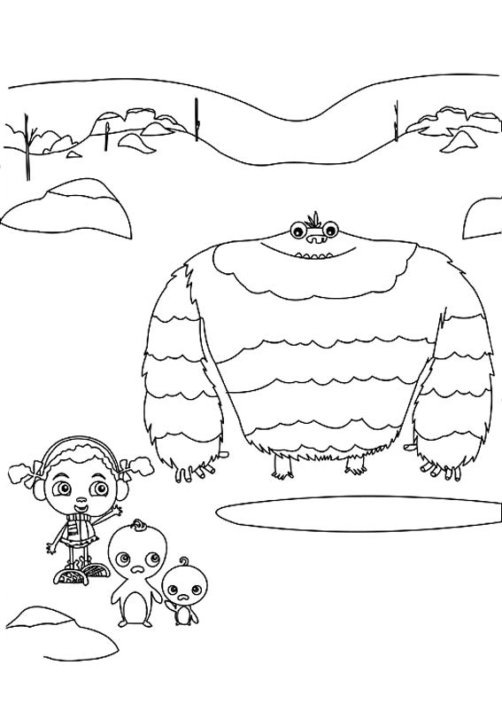 Franny S Feet Coloring Pages To Download And Print For Free