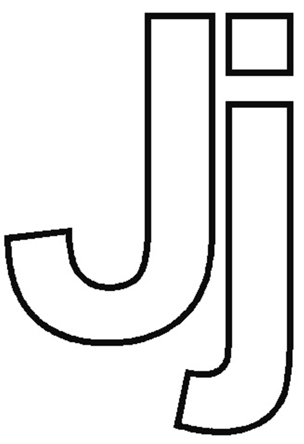 Letter J coloring pages to download and print for free