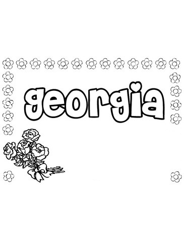 free name coloring pages printables - photo#40