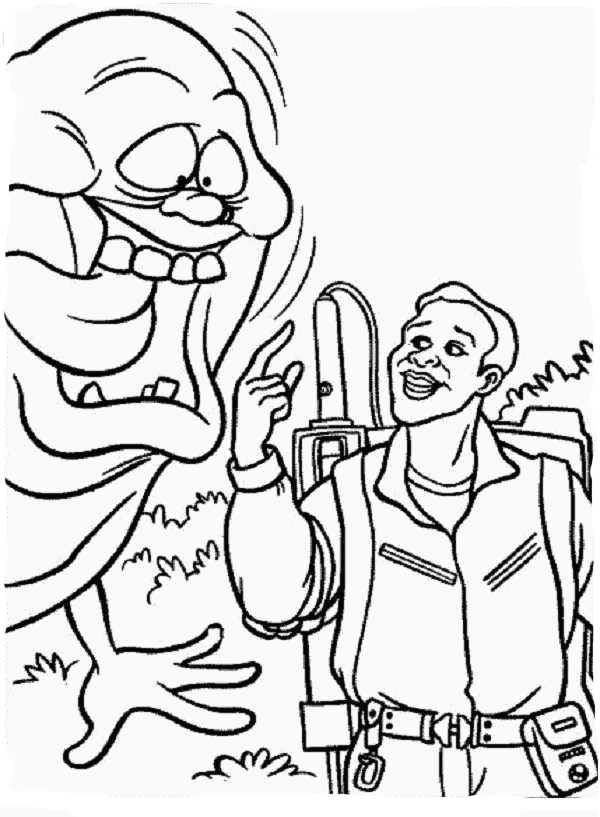 Ghostbusters coloring pages to
