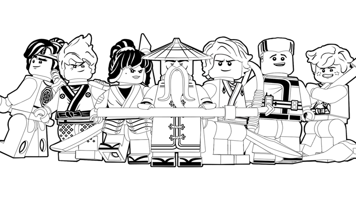 The Lego Ninjago Movie Coloring Pages To Download And Print For Free