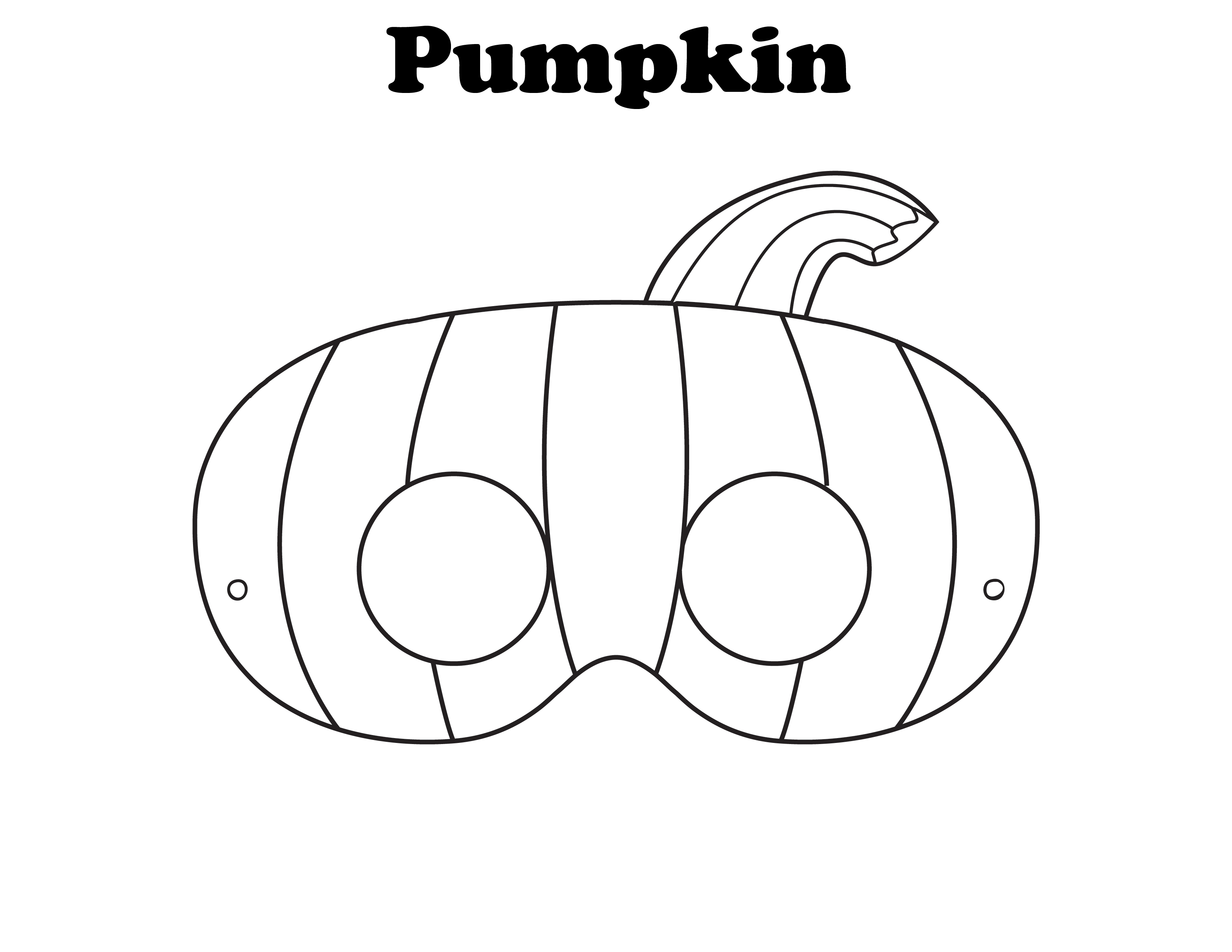 Free Coloring Pages Halloween Masks : Halloween Masks coloring pages to download and print for free