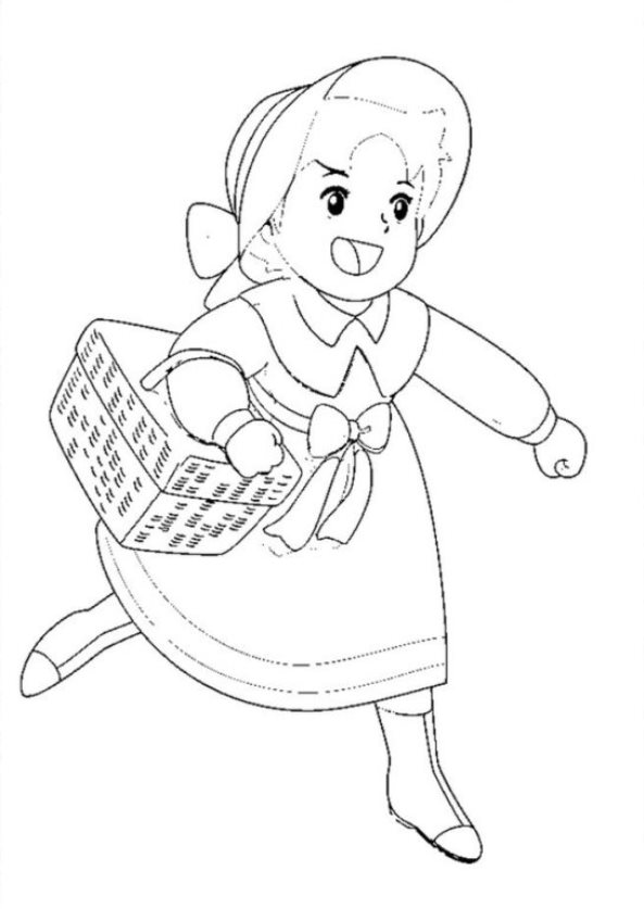 Pokemon Kleurplaat Pikachu Heldi Girl Of The Alps Coloring Pages To Download And