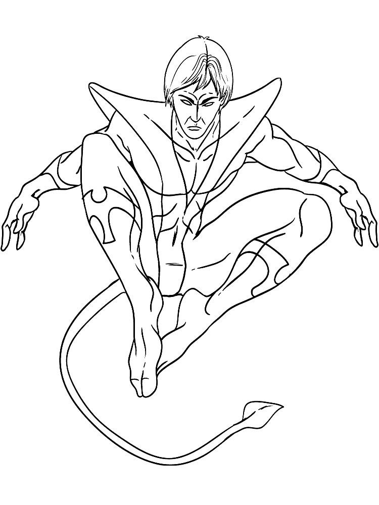 X-men coloring pages to download and print for free