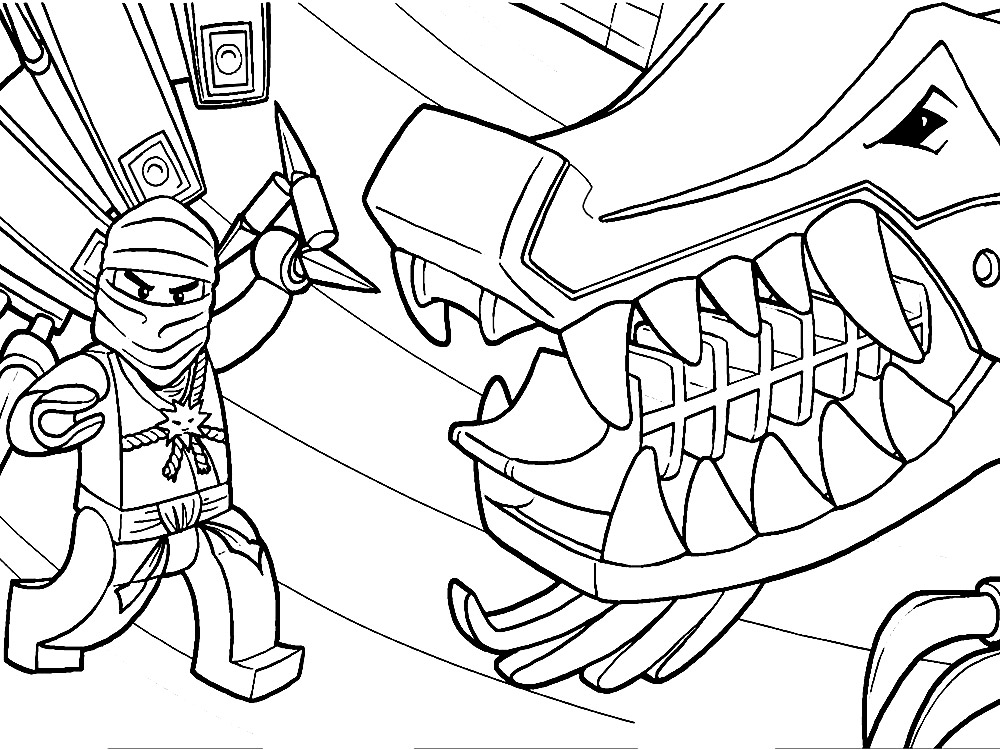 coloring page lego - lego ninjago coloring pages to download and print for free