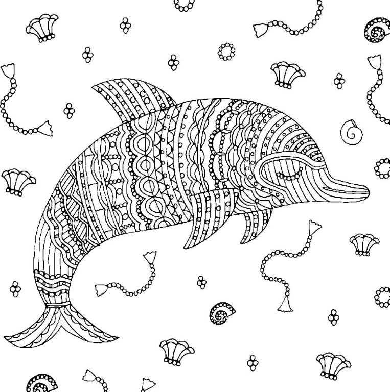 Marine life Coloring Pages to download and print for free