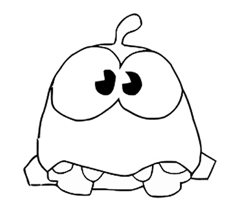 Om Nom Coloring Pages To Download And Print For Free