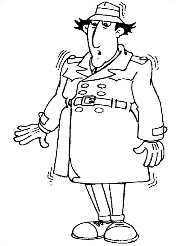 gadget boy coloring pages   Inspector Gadget coloring pages to download and print for free