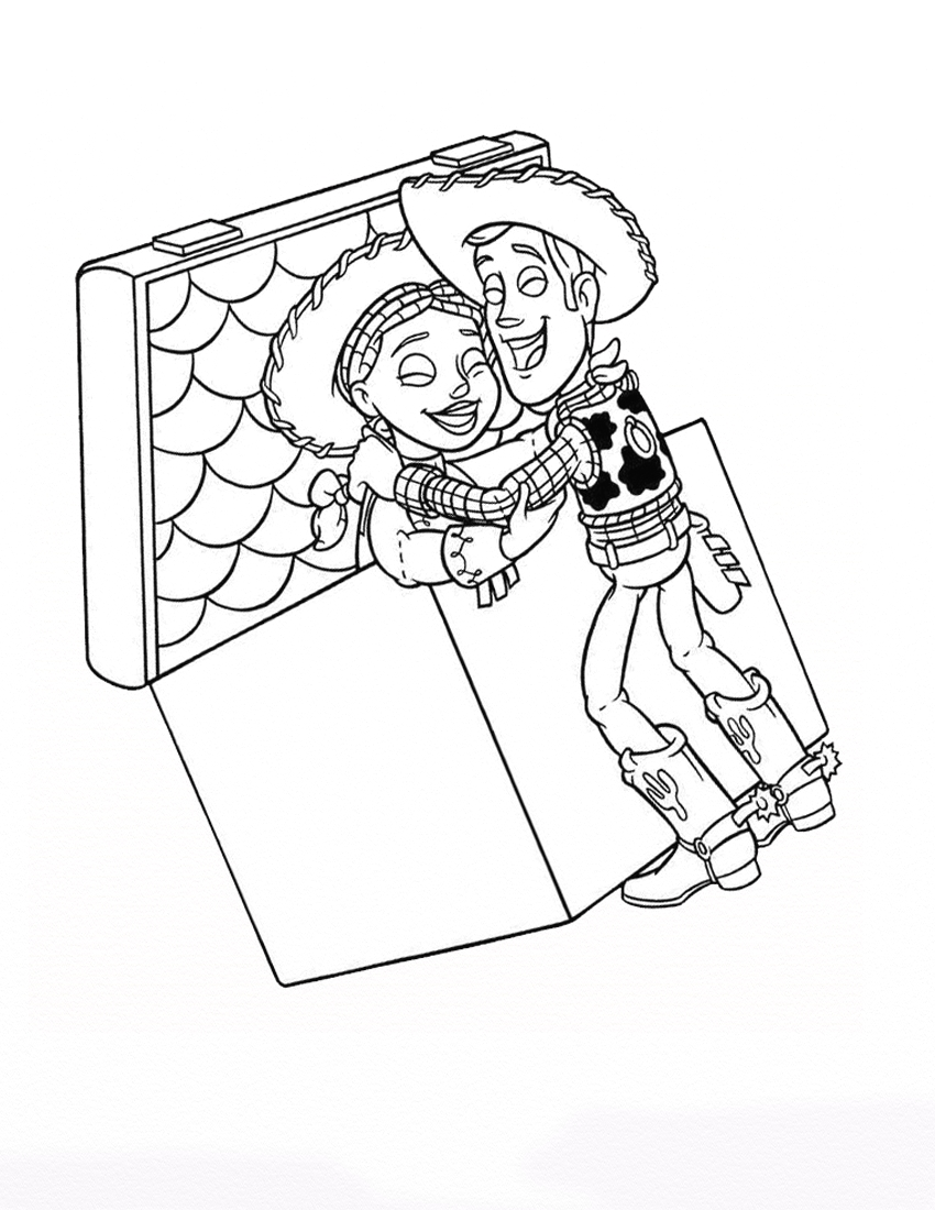 Jessie coloring pages to download and print for free