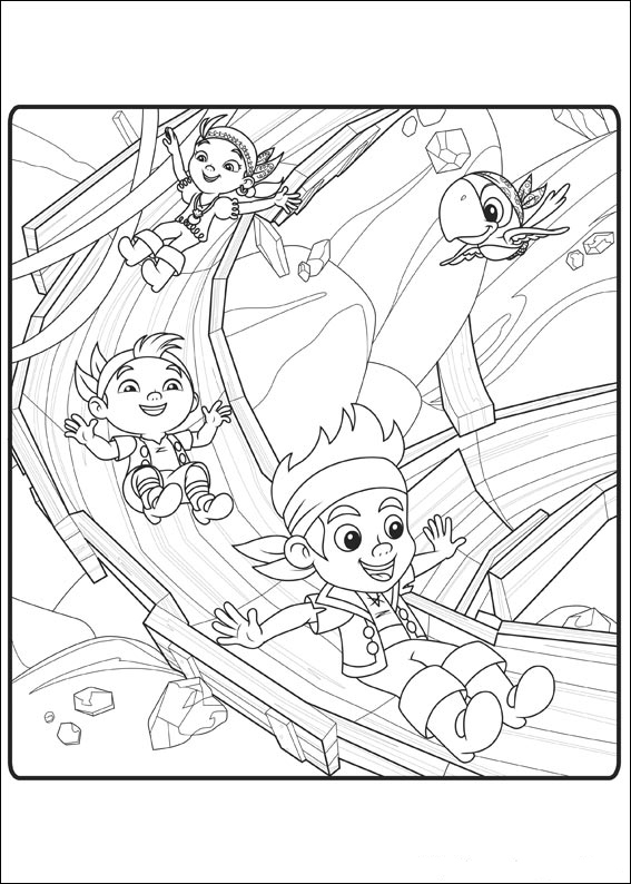 free jake and the never land pirates coloring pages to print for kids download print and color