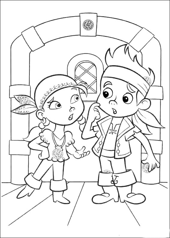 life is good by jake coloring pages | Jake and the Never Land Pirates coloring pages to download ...