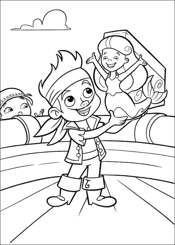 Jake and the Never Land Pirates coloring pages to download ...