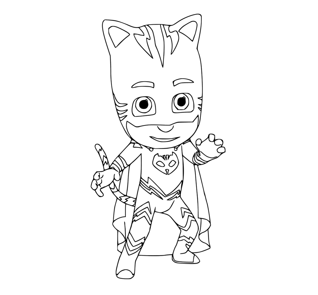 PJ Masks coloring pages to download