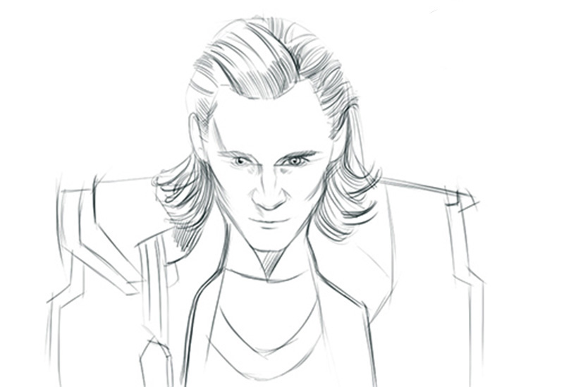 Loki coloring pages to download