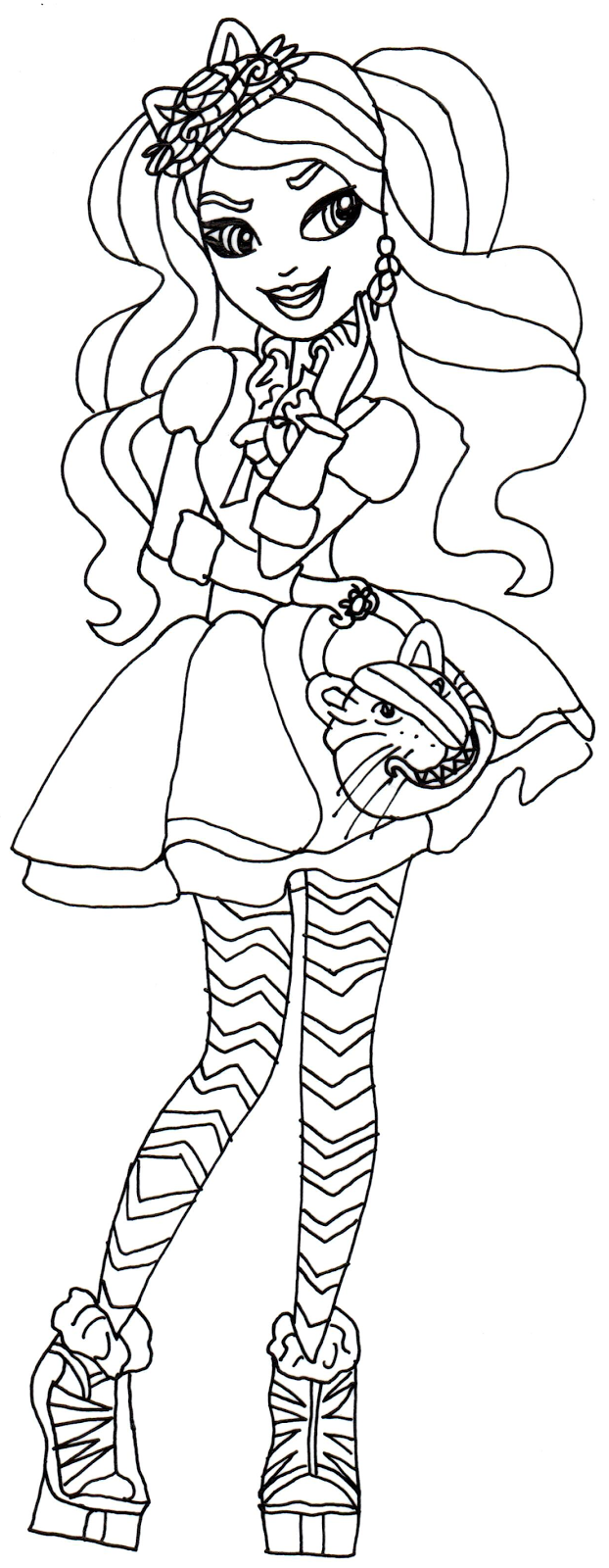 Ever after high coloring pictures - Ever After High Coloring Pages