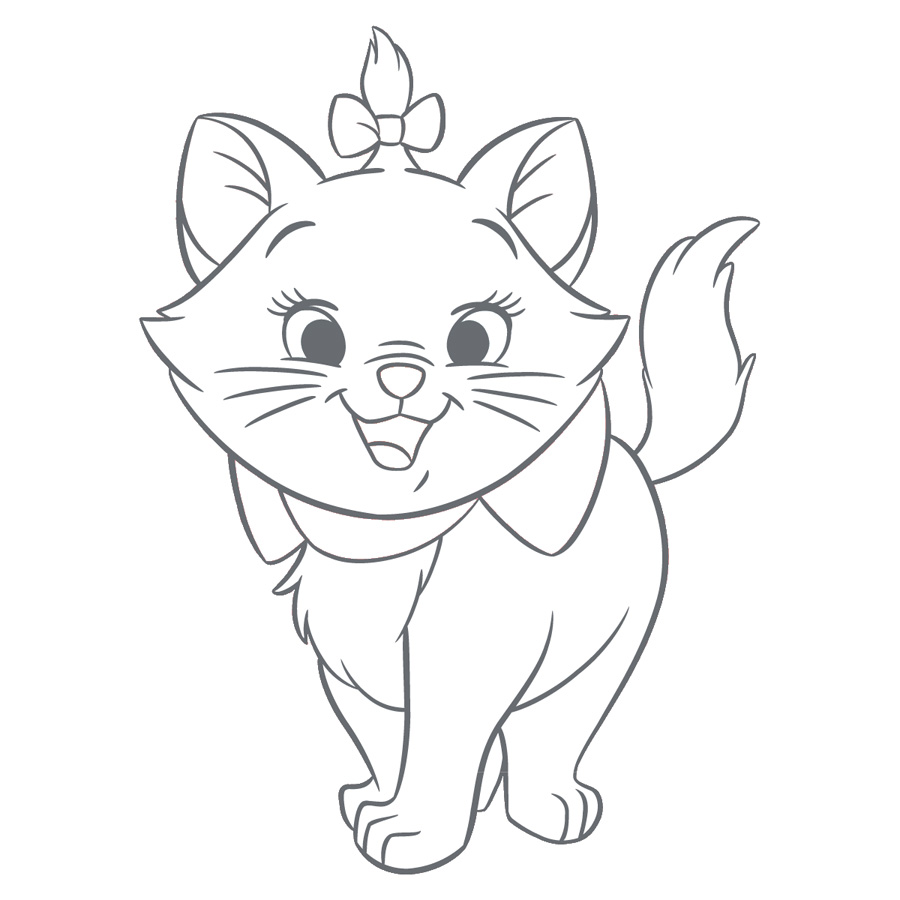 The AristoCats coloring pages to