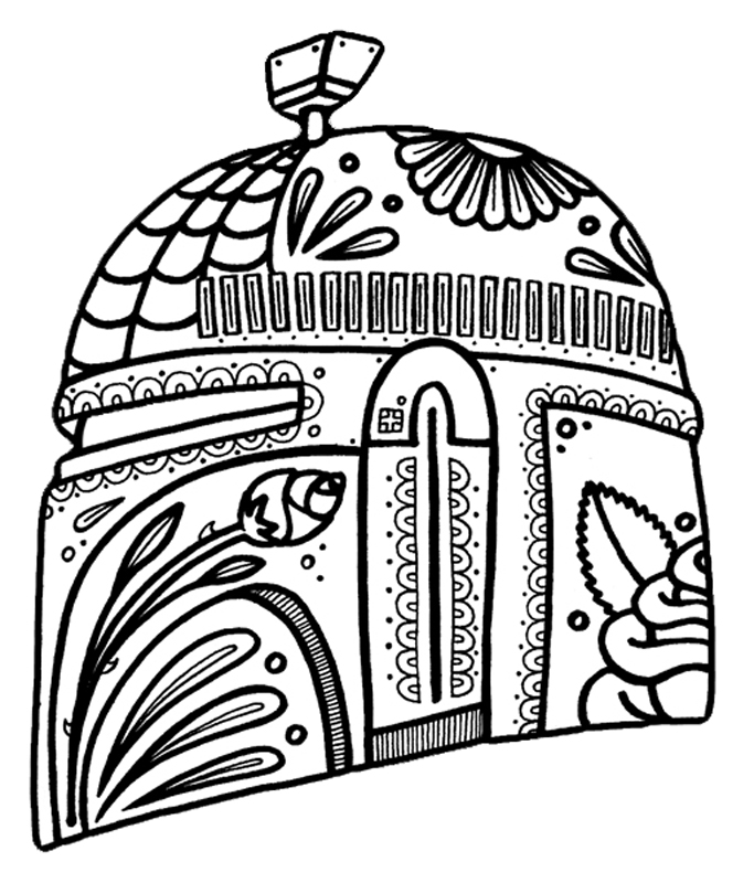 Dia De Los Muertos Coloring Pages To Download And Print