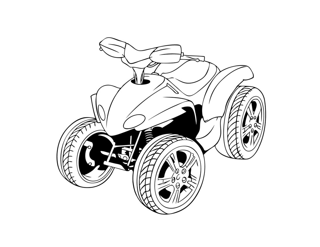 Coloring: ATV Coloring Pages To Download And Print For Free