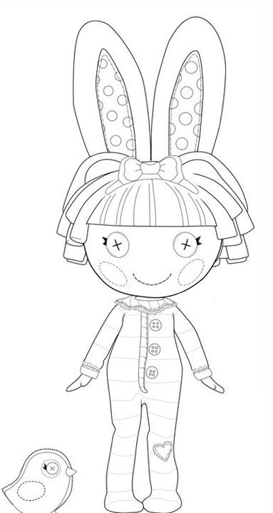 lalaloopsy babies coloring pages - photo#25