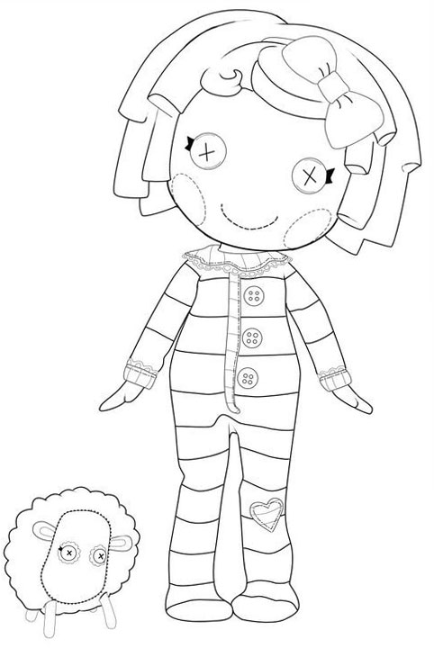 lalaloopsy babies coloring pages - photo#1