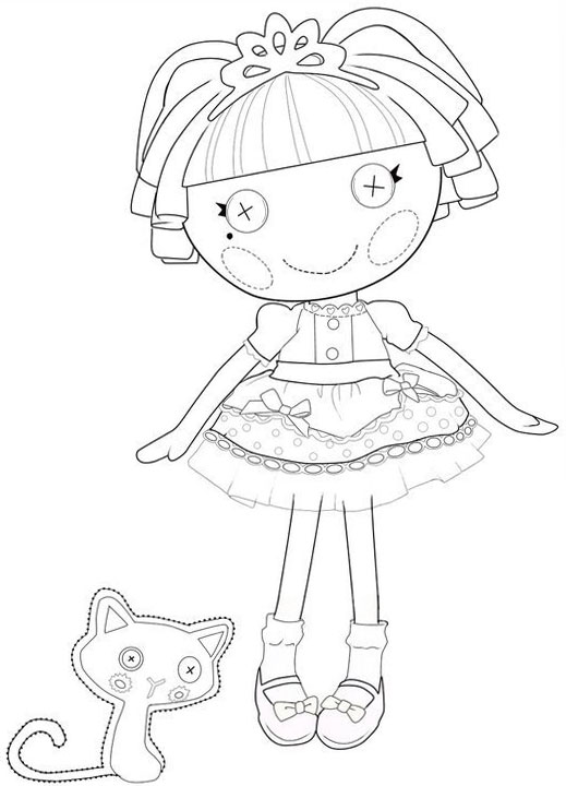 lalaloopsy babies coloring pages - photo#31