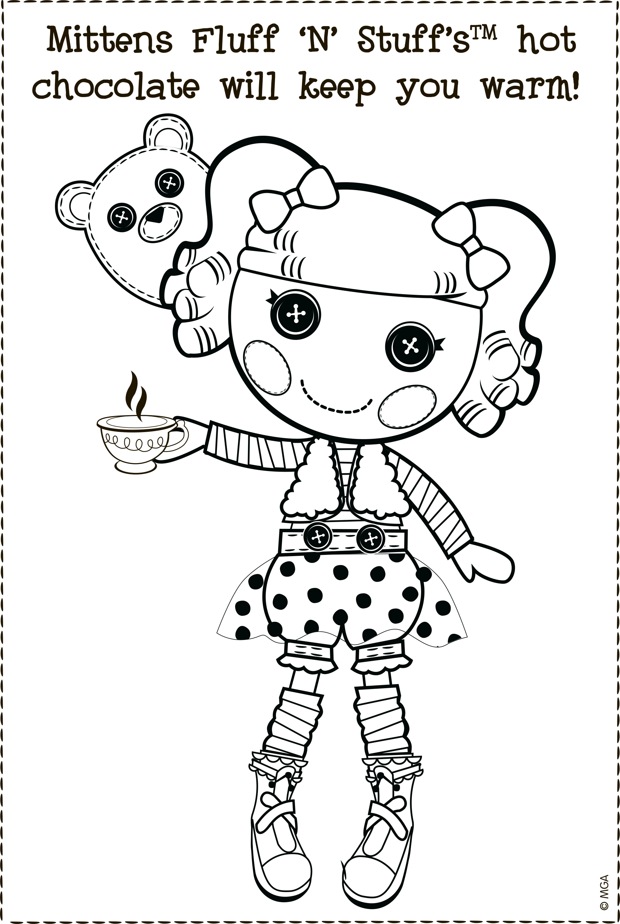 lalaloopsy babies coloring pages - photo#16