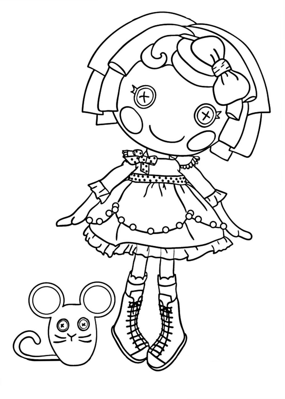 lalaloopsy babies coloring pages - photo#4