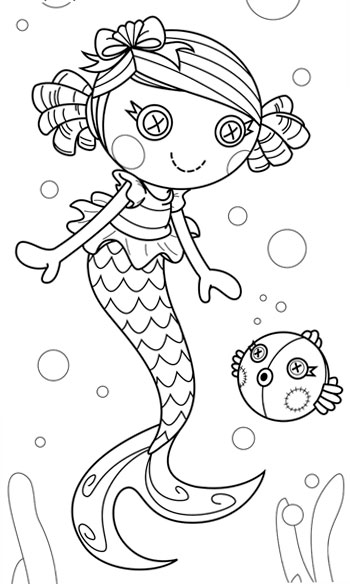 lalaloopsy babies coloring pages - photo#15