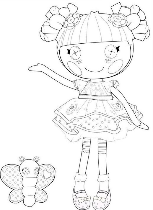 lalaloopsy babies coloring pages - photo#21