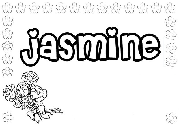 Girls Names coloring pages to download and print for free