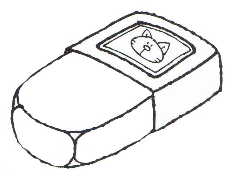 Eraser Coloring Pages To Download And Print For Free