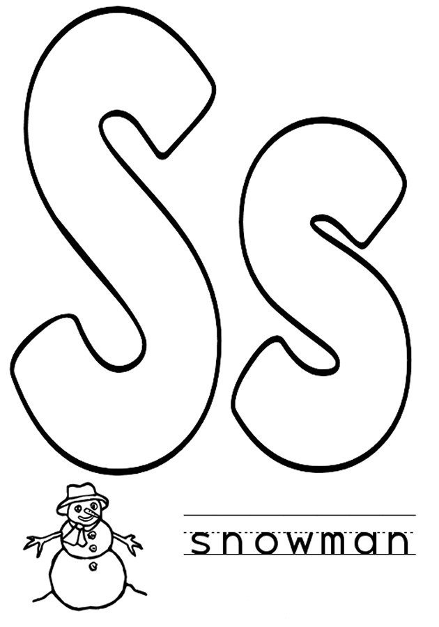 letter r coloring pages s is for coloring page images about