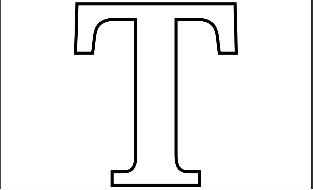 letter t coloring pages - Letter T Coloring Sheets