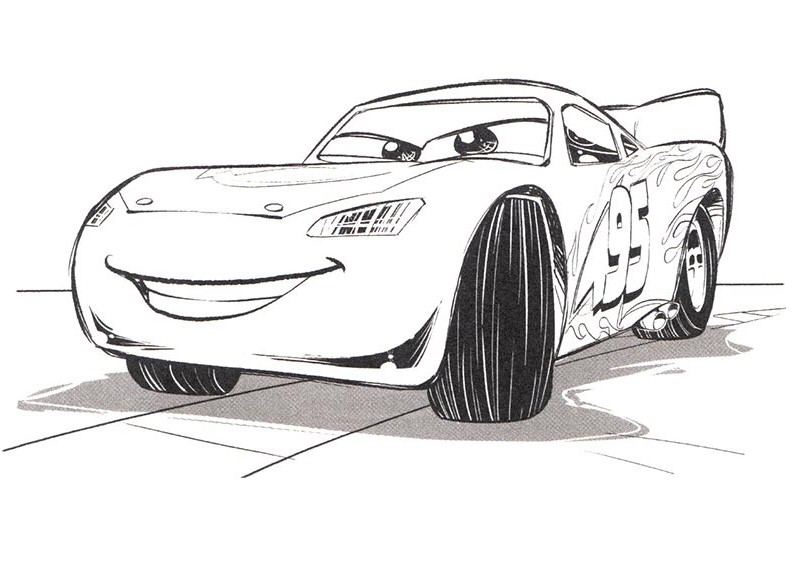 Cars 3 coloring pages to download and print for free for Cars 3 coloring pages