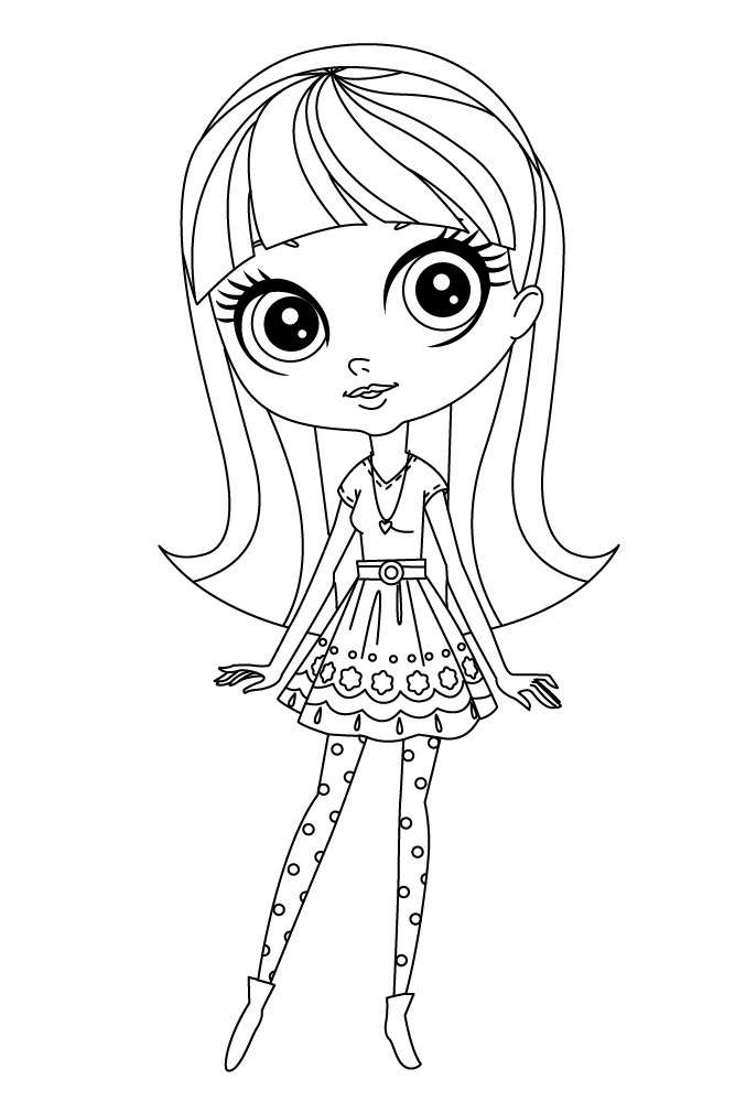 Littlest Pet Shop Coloring Pages - Best Coloring Pages For Kids | 1000x667