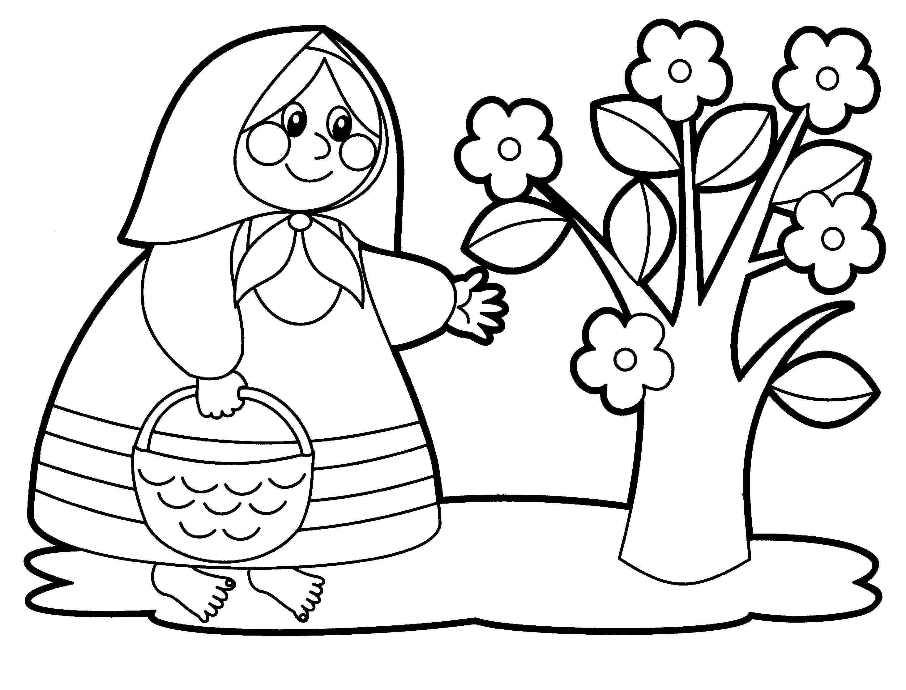 Coloring pages for children of