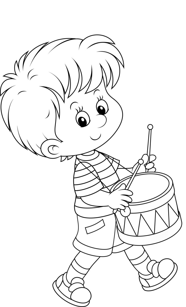 Boys coloring book pages ~ Boy coloring pages to download and print for free