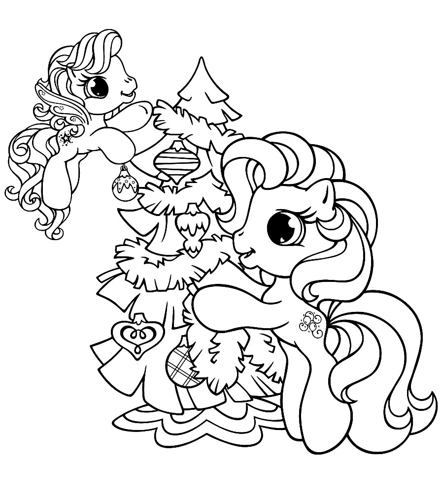 My Little Pony coloring pages for girls print for free or ...