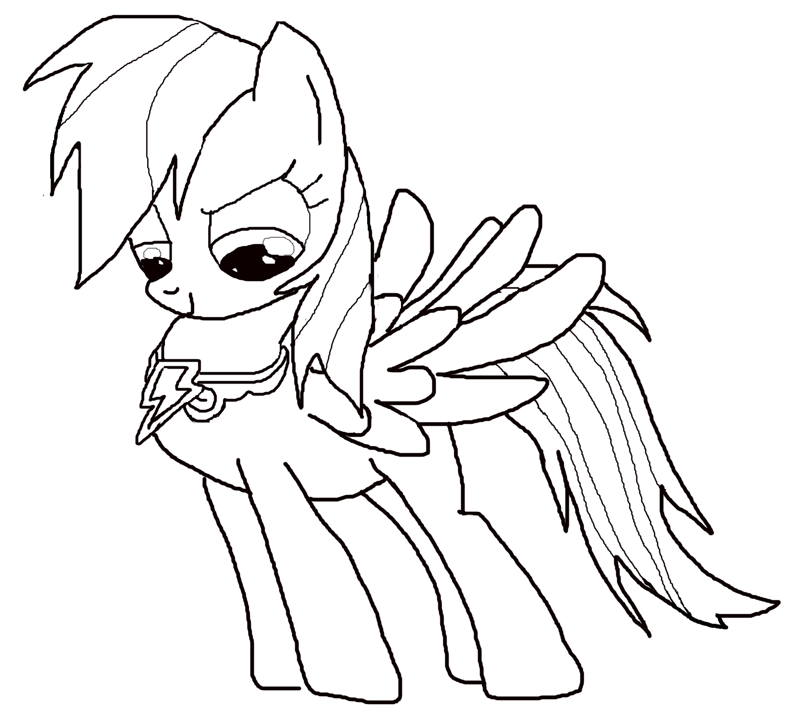 My Little Pony coloring pages for