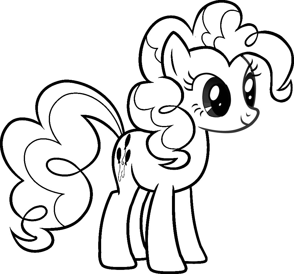 my lilttle pony coloring pages - photo#12