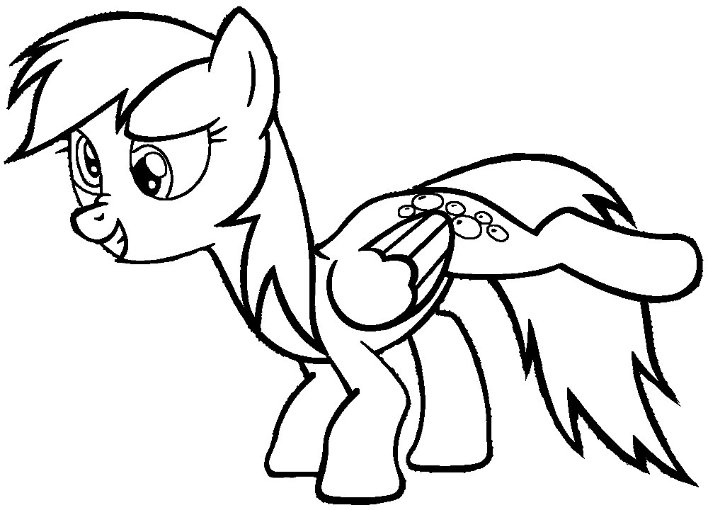 Coloring: My Little Pony Coloring Pages For Girls Print For Free Or