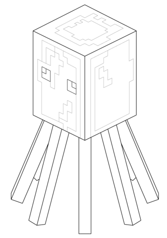 Kleurplaat Minecraft Creeper Minecraft Coloring Pages To Download And Print For Free