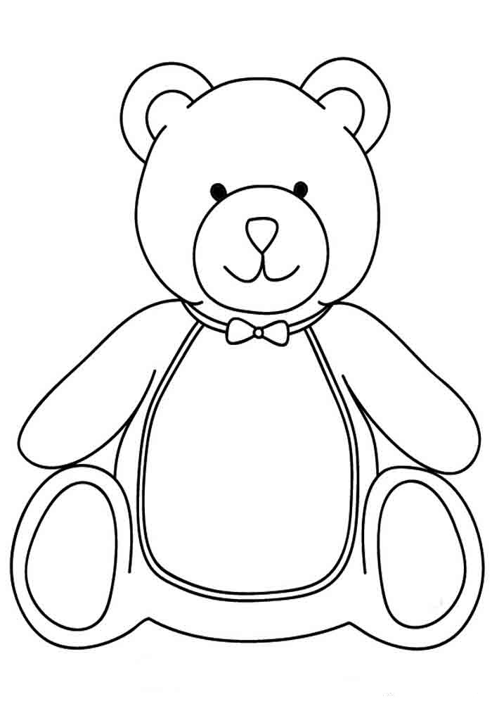 It's just a photo of Epic Lname Bear Coloring Page