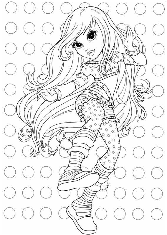 Mermaid Coloring Pages For Kids Moxie coloring pages f...