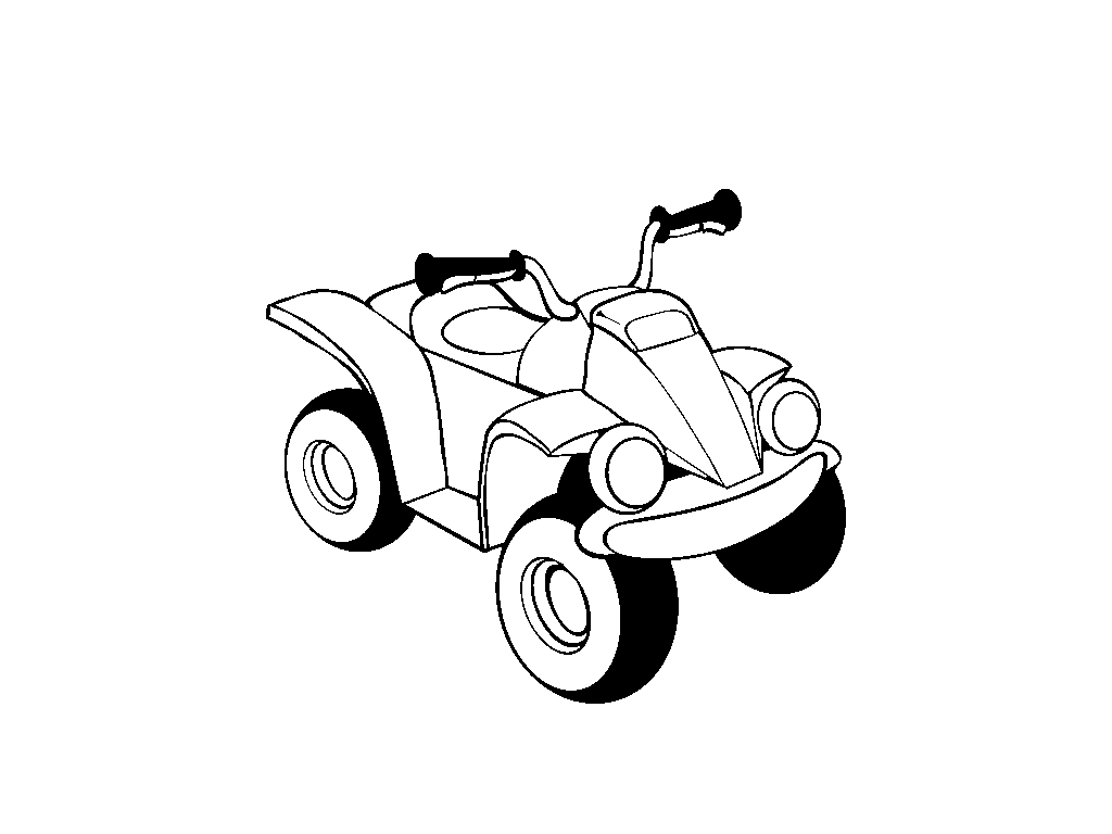 ATV coloring pages to download