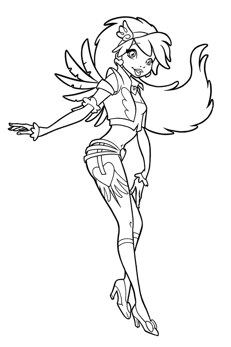 Angel S Friends Coloring Pages | Coloring Pages