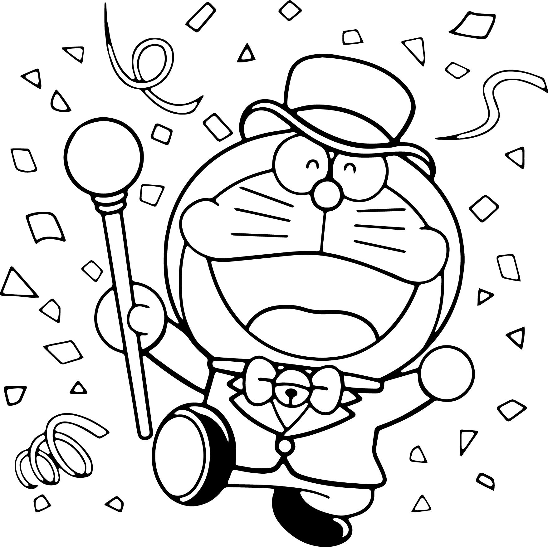 Painting pages to print - Doraemon Painting Pages Free Doraemon Coloring Pages To Print For Kids Download Print And Color